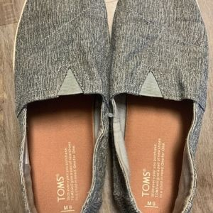 Mens Toms Men's Avalon Casual Shoe gray marled